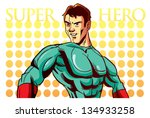 super hero | Shutterstock .eps vector #134933258