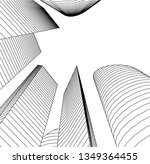 architecture building 3d    Shutterstock .eps vector #1349364455