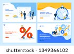 web page design templates... | Shutterstock .eps vector #1349366102