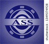 ass with jean texture | Shutterstock .eps vector #1349374928