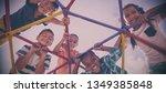 portrait of happy schoolkids...   Shutterstock . vector #1349385848