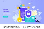 secure payment  personal... | Shutterstock .eps vector #1349409785