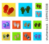 vector illustration of own and... | Shutterstock .eps vector #1349415038