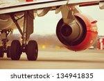 Hot Air Behind The Aircraft...