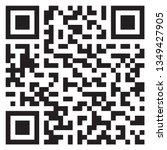 sample qr code icon | Shutterstock .eps vector #1349427905