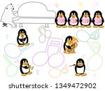 show time of the animal of the... | Shutterstock .eps vector #1349472902