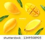 Creative Layout Made Of Mango....