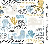 Baby Seamless Pattern With...