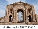 jerash  jordan   nov 20  2008 ... | Shutterstock . vector #1349556662