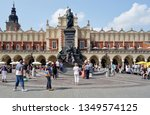 krakow  poland  august 27 2017. ...   Shutterstock . vector #1349574125