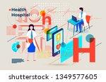 vector concept illustration   ... | Shutterstock .eps vector #1349577605