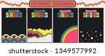 1960's psychedelic backgrounds... | Shutterstock .eps vector #1349577992