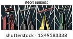 art deco  bauhaus ... | Shutterstock .eps vector #1349583338