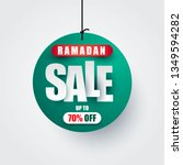 ramadan kareem sale vector... | Shutterstock .eps vector #1349594282
