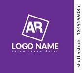 ar logo concept. designed for...