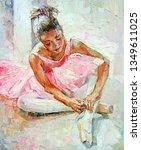 A Young Girl  Little Ballerina...