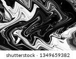 grunge black and white abstract ... | Shutterstock . vector #1349659382