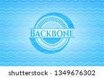 backbone water concept badge... | Shutterstock .eps vector #1349676302
