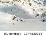 monte rosa gressoney saint jean ... | Shutterstock . vector #1349830118