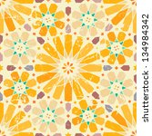 vintage arabic seamless pattern | Shutterstock .eps vector #134984342