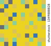 vector abstract squares pattern.... | Shutterstock .eps vector #1349888828