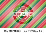 acupuncture christmas colors... | Shutterstock .eps vector #1349901758