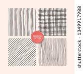 hand draw textures  line design ... | Shutterstock .eps vector #1349917988