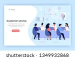 customer service and advising... | Shutterstock .eps vector #1349932868