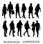 set of young and adult men and...   Shutterstock . vector #1349935355