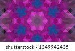 geometric design  mosaic of a... | Shutterstock .eps vector #1349942435