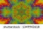 geometric design  mosaic of a... | Shutterstock .eps vector #1349942618