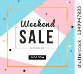 sale banner template design... | Shutterstock .eps vector #1349947835