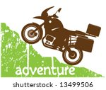 Adventure Moto Climbing background