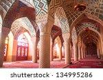 nasir al mulk mosque  shiraz ...   Shutterstock . vector #134995286