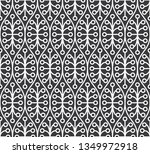 seamless inverse black and... | Shutterstock .eps vector #1349972918