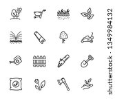 icon set gardening  agriculture ...   Shutterstock .eps vector #1349984132