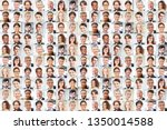 many businessmen portraits...