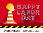 happy labor day national day... | Shutterstock .eps vector #1350030668