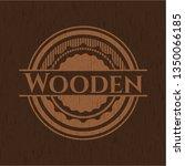 wooden rwooden retro wood... | Shutterstock .eps vector #1350066185