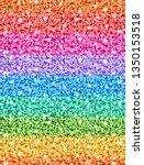 vector seamless multicolor... | Shutterstock .eps vector #1350153518