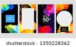 editable story template... | Shutterstock .eps vector #1350228362
