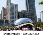 chicago  illinois  usa   may 23 ... | Shutterstock . vector #1350324365