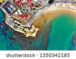 cadiz with drone   amazing air...   Shutterstock . vector #1350342185
