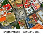 cadiz with drone   amazing air...   Shutterstock . vector #1350342188