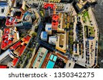 cadiz with drone   amazing air...   Shutterstock . vector #1350342275