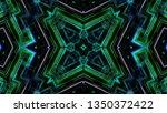 abstract kaleidoscope... | Shutterstock . vector #1350372422