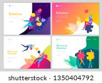 landing page templates. vector...