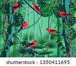 Scarlet Tanagers Birds In The...