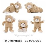 Teddy Bear Set  3 Of 3