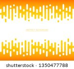 abstract of fresh yellow color... | Shutterstock .eps vector #1350477788